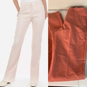 Express Publicist Mid Rise Barely Boot Pant LONG